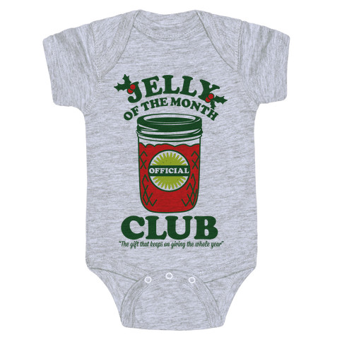Jelly Of the Month Club Baby Onesy