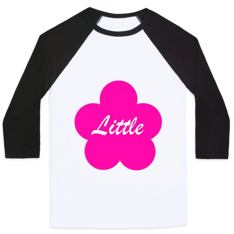 Little Sister Baseball Tee
