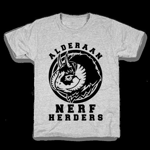 Alderaan Nerfherders Kids T-Shirt
