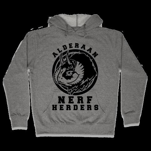 Alderaan Nerfherders Hooded Sweatshirt