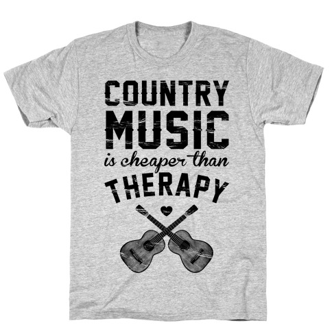 Country Music Therapy T-Shirt
