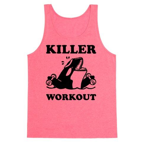 Killer Workout (Orca) Tank Top