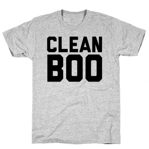 Clean Boo Mens T-Shirt