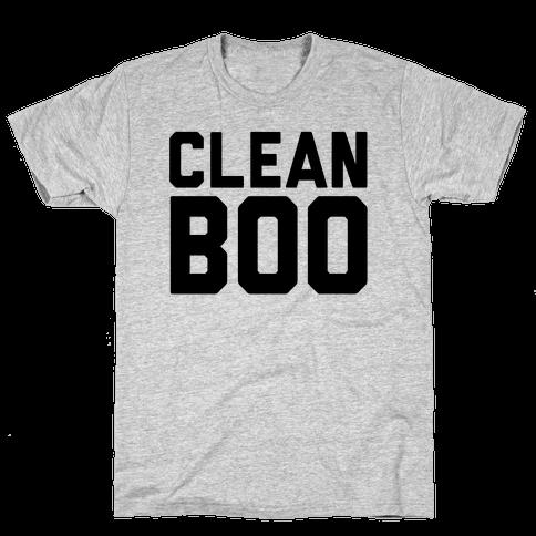 Clean Boo Mens T-Shirt