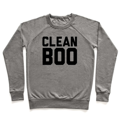 Clean Boo Pullover