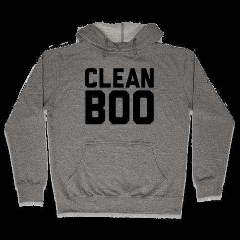 Clean Boo Hooded Sweatshirt