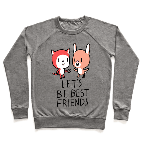 Let's Be Best Friends Pullover