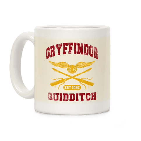 Gryffindor Quidditch Coffee Mug