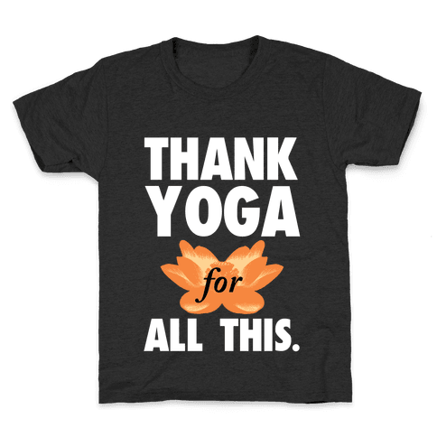 Thank Yoga Kids T-Shirt