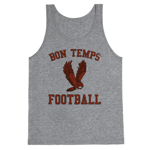 Bon Temps Football Tank Top