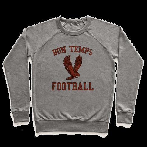 Bon Temps Football Pullover
