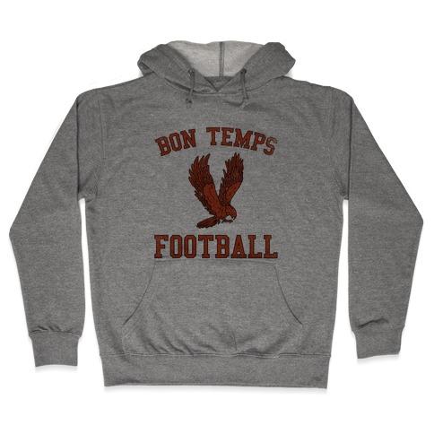 Bon Temps Football Hooded Sweatshirt