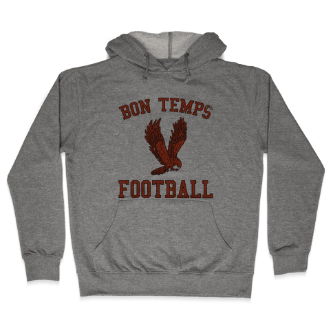 Bon Temps Football Hooded Sweatshirt