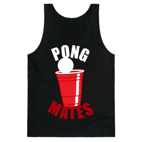 Beer Pong Mates Tank Top