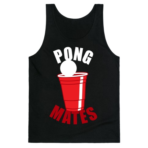 Beer Pong Mates Tank Top