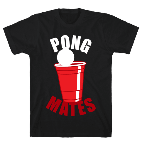 Beer Pong Mates Mens T-Shirt