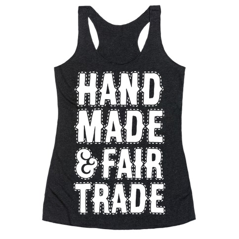 Handmade & Fair Trade Racerback Tank Top