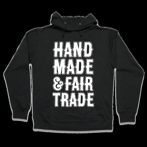 Handmade & Fair Trade Hooded Sweatshirt