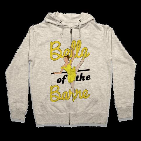 Belle of the Barre Zip Hoodie