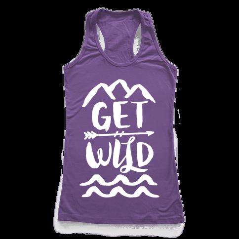 Get Wild Racerback Tank Top