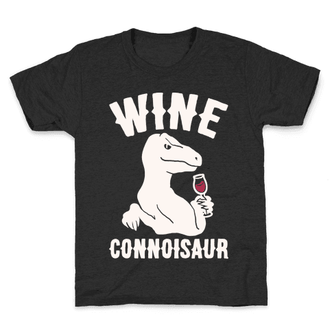 Wine Connoisaur Kids T-Shirt