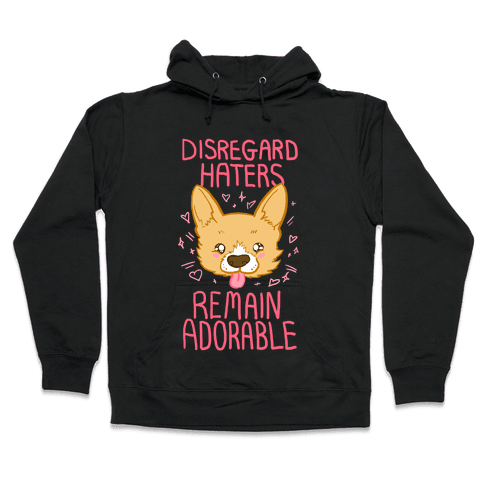 Disregard Haters Hooded Sweatshirt