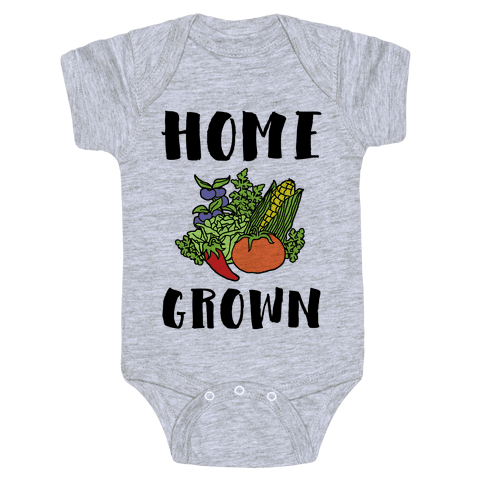 Home Grown Baby Onesy
