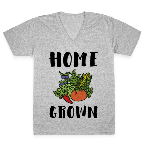 Home Grown V-Neck Tee Shirt