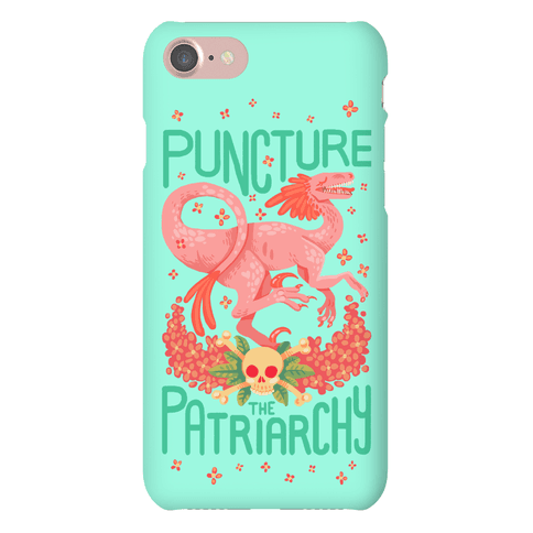 Puncture The Patriarchy Phone Case