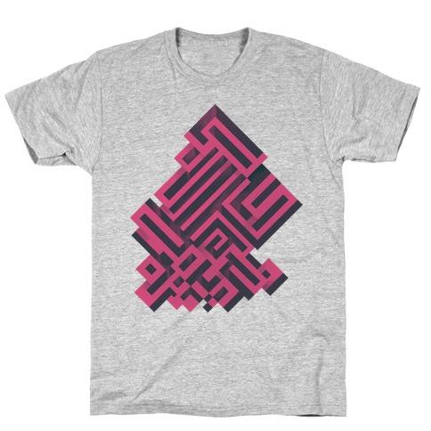 Bismuth Maze T-Shirt