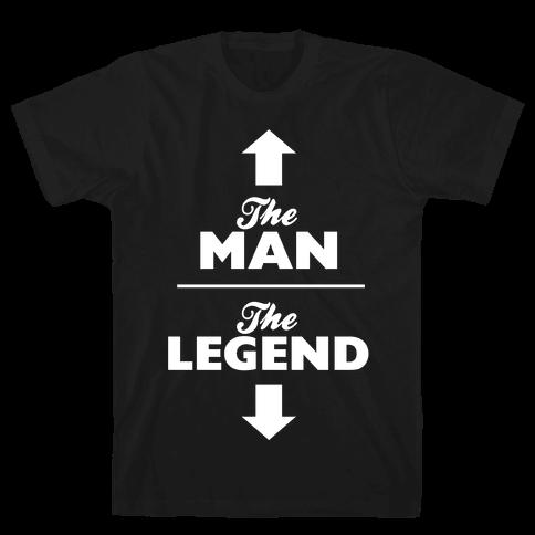The Man, The Legend Mens T-Shirt