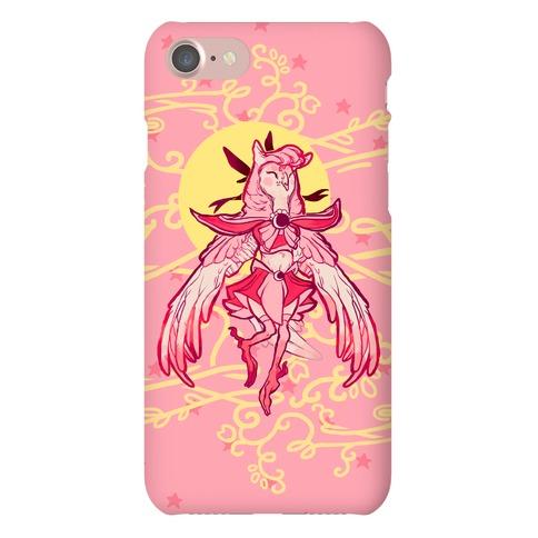 Magical Owl Girl Phone Case