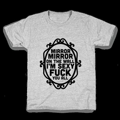 Mirror Mirror Tank Kids T-Shirt