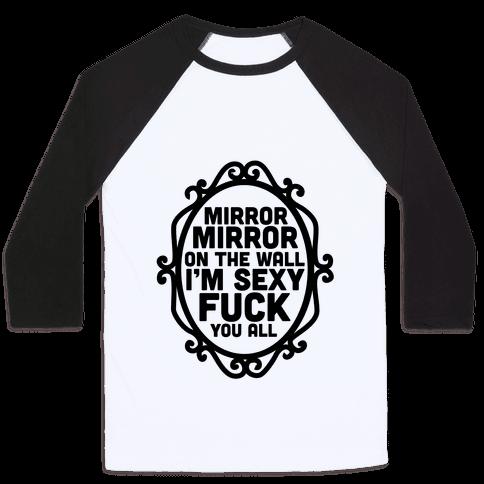 Mirror Mirror Tank Baseball Tee