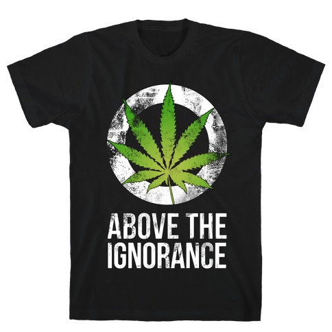 Above the Ignorance Mens T-Shirt