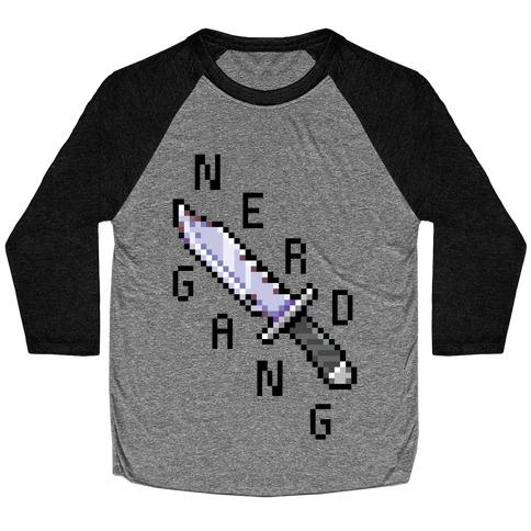 Nerd Gang Baseball Tee