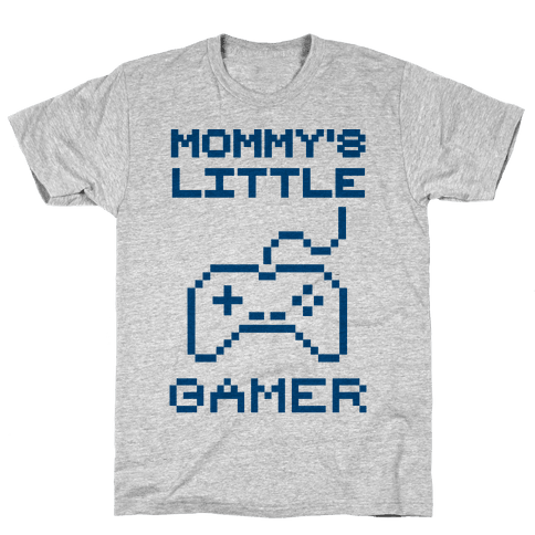 Mommy's Little Gamer Mens T-Shirt