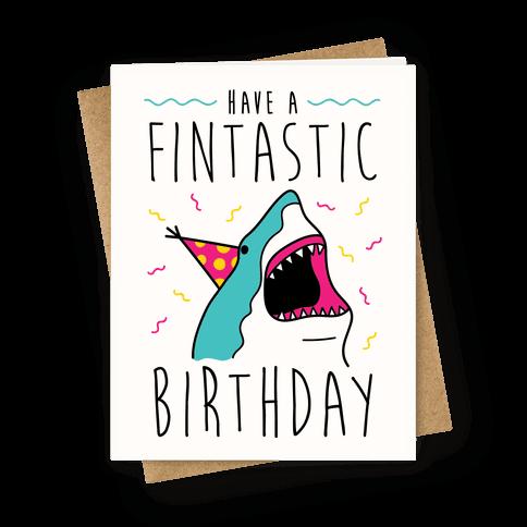 shark birthday card  tshirts, tanks, coffee mugs and gifts, Birthday card