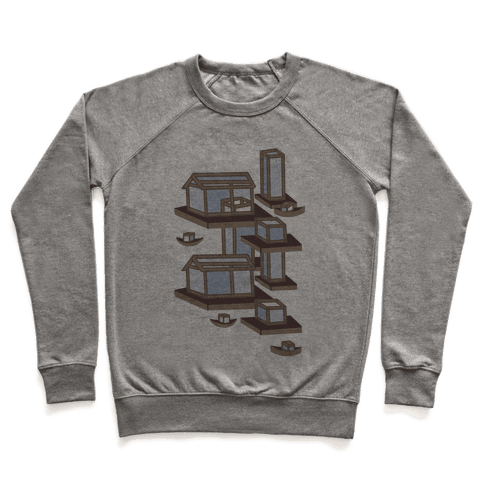 Floating Lantern City Pullover