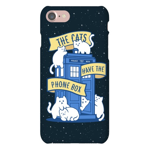 The Cats Have the Phone Box! Phone Case