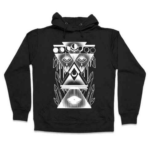 Witch Collage Hooded Sweatshirt