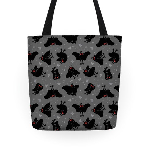 Cute Mothman Pattern Tote