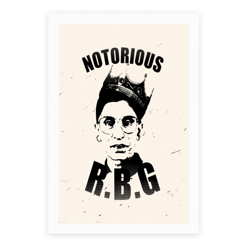 Notorious R.B.G. Poster
