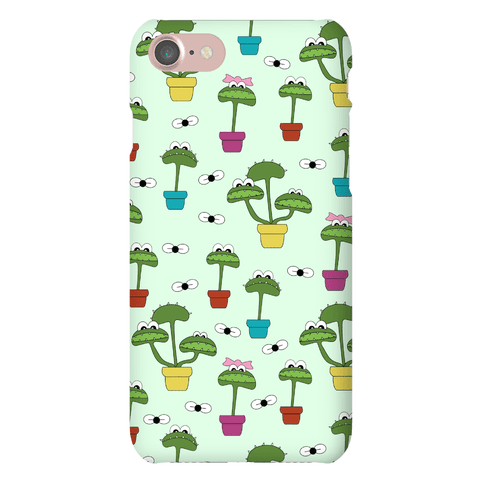 Venus Fly Trap Pattern Phone Case