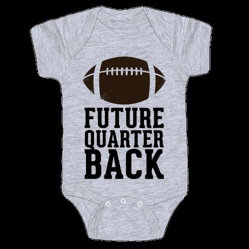 Future Quarterback Baby Onesy