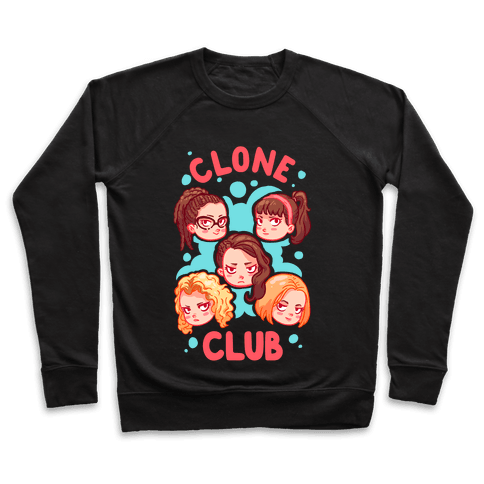 Clone Club Cuties Parody Pullover