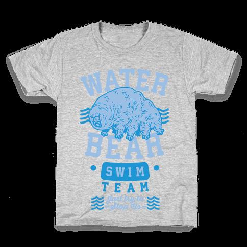 Waterbear Swim Team Kids T-Shirt