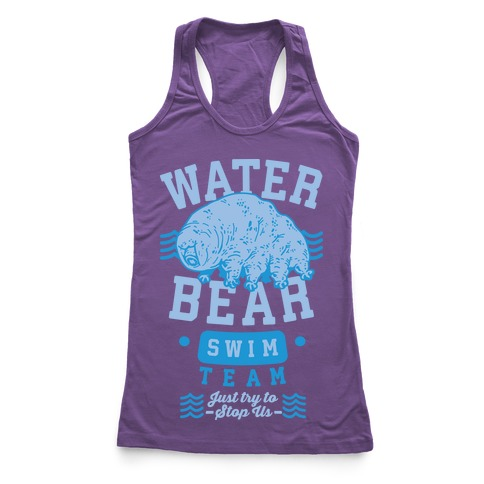 Waterbear Swim Team Racerback Tank Top