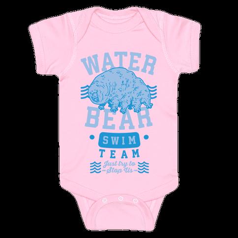 Waterbear Swim Team Baby Onesy