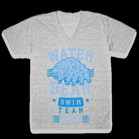 Waterbear Swim Team V-Neck Tee Shirt